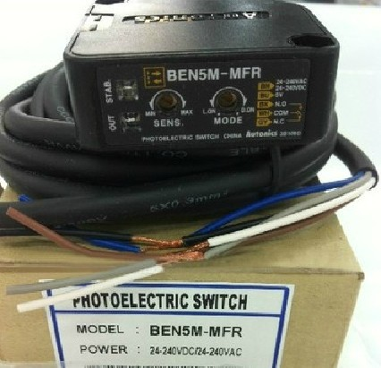 photoelectric sensor BEN5M-MFR new original 100% new and original fotek photoelectric switch a3g 4mx mr 1 free power photo sensor