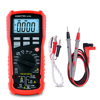 Temperature Multimeter True RMS Digital ESR Meter Electric Voltmeter Current Tester Current Pocket Multi tester Ohmmeter Probes