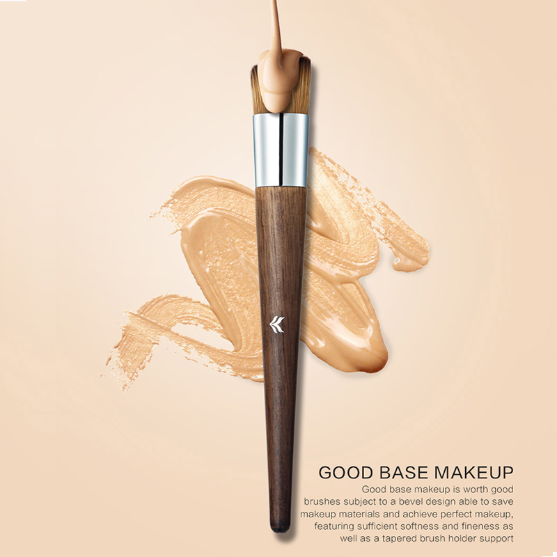 Concealer Makeup Brush Flat Top Synthetic Bristles Best for Acne, Under Eye Concealing and Blending prasanta kumar hota and anil kumar singh synthetic photoresponsive systems