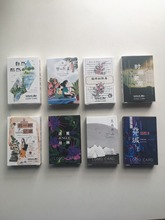 WANGPURLAND 52mm*80mm 8 types flower ice time greeting card lomo card 1lot 28pieces