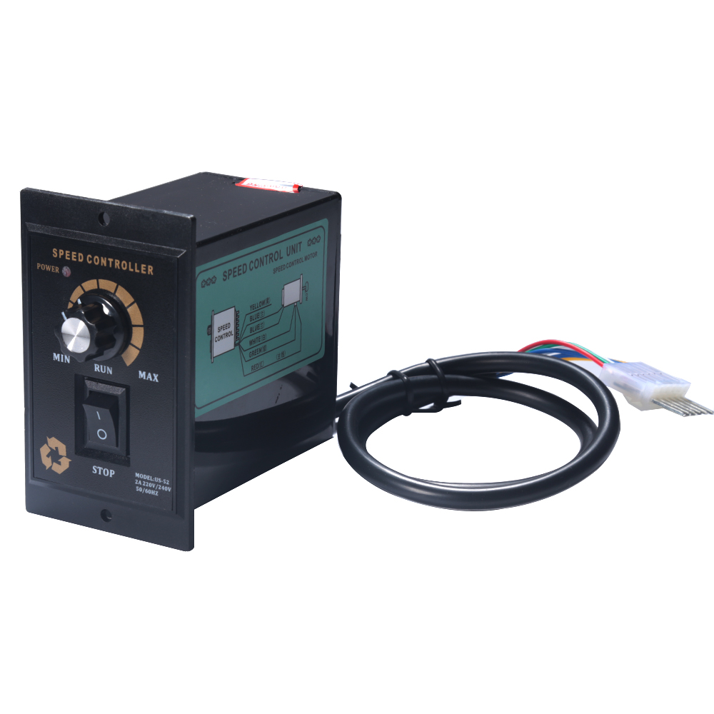 1Pcs AC Controlador de Velocidade Do Motor 400W AC 220V Controlador de Velocidade Do Motor Regulador de Identificar A Frente e Para Trás