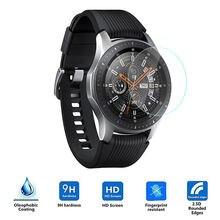 3 шт 9H HD защитная пленка из закаленного стекла для samsung Galaxy Watch Active 42 мм 46 мм прозрачная защитная пленка для экрана