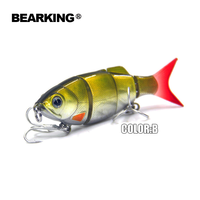 5pcs/lot Bearking Hot fishing lures minnow,hard baits quality professional baits 11cm/27g,swimbait jointed bait,free shipping new arrivals sealurer hot model fishing lures 13cm 19g swimbait jointed bait minnow 5 different colors crank minnow bait