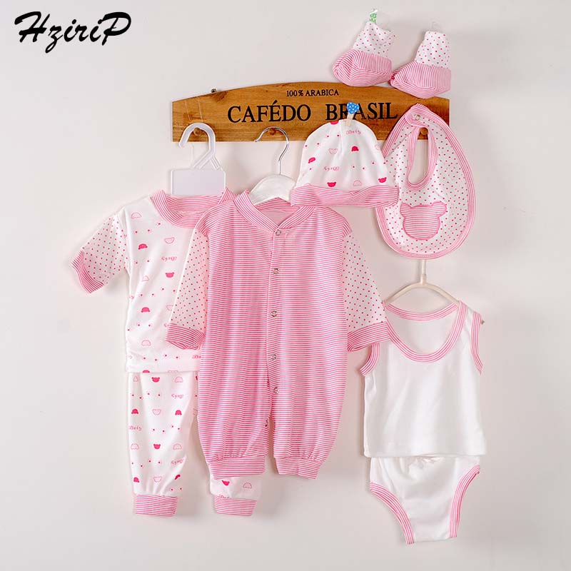 8 Pieces Baby Gift Set Newborn Clothes Uni Baby Girl