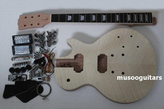 ערכת בניית פרויקט גיטרה חשמלית DIY עם כל האביזרים