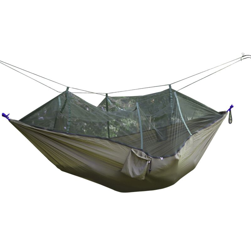 1 2 Person Outdoor Mosquito Net Parachute Hammock Camping