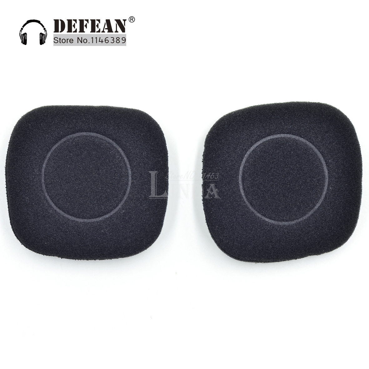 2 pairs Replacement Foam Cushion Pads For  Logitech H150 H 150 Headset Headphone