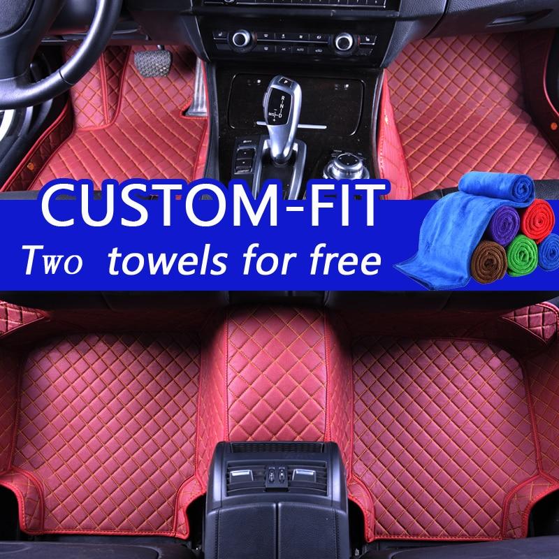 Alfombrillas personalizadas para Toyota Land Cruiser 200 Prado 150 - Accesorios de interior de coche - foto 2