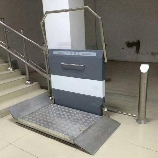 Escalera ascensor para sillas de ruedas hacer como for Sillas para discapacitados