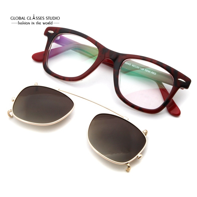 c2f240cdc7c7c Vintage Men Eyeglasses Fashion New York City Subway Map Design Spectacle  Acetate Optical Frame Clip-on Sunglasses Lens 604PG