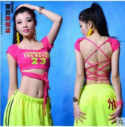 9cd5f7eef Detail Feedback Questions about New Fashion dance hip hop short top ...