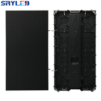 Indoor P4.81 Die Casting Aluminum Cabinet 500x1000mm Ultra Slim HD 1R1G1B 3in1 Full Color LED Display Panel LED Video Panel