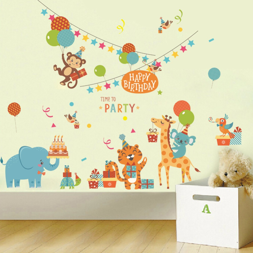 wall decals picture more detailed picture about cartoon animals
