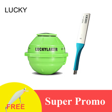 Lucky FF916 Sounder Sonar Wireless WIFI Fish Finder 50M/130ft Sea Fish Detect Finder For IOS Android Wi-Fi Fishfinder+Car Charge