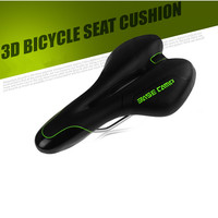 High Quality Cycling Saddle Thickened 3D Silica Gel MTB Seat Shock Proof Bike Saddle Hollow Breathable