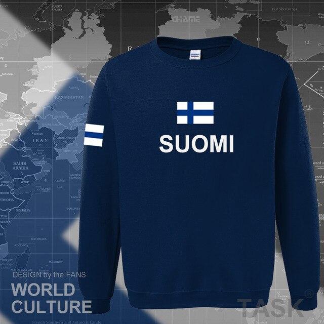 Finland hoodies men sweatshirt sweat new hip hop streetwear socceres jerseyes footballer tracksuit nation Finnish flag Finn FI 2