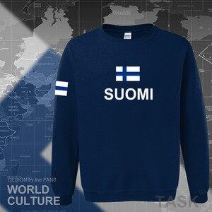 Image 3 - Sudaderas de Finlandia para hombre, ropa informal estilo hip hop, camisetas, chándal de jugador de fútbol, nación finlandesa, bandera Finn FI