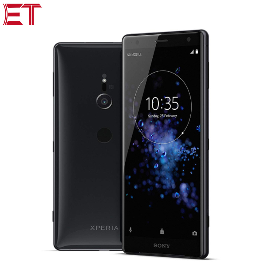 """New Sony Xperia XZ2 H8296 4G Mobile Phone 5.7""""1080x2160p 6GB RAM 64GB ROM Snapdragon845 19MP Camera Dual SIM NFC Android Phone-in Cellphones from Cellphones & Telecommunications    1"""