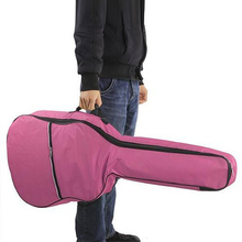 41 Inch Guitar Bag Ballad Guitar Bag Pack Package Backpack Shoulders with Cotton Pink Guitar Accessories SS