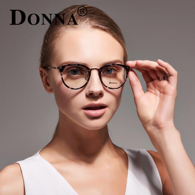 donna fashion reading eyeglasses optical glasses frames glasses women new cat eye frame ultra light frame - Women Glasses Frames