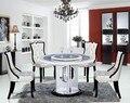 Деревянный обеденный стол и стул, мебель