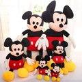 30 cm Mickey Mouse y Minnie Mouse juguetes animales de peluche muñecos de peluche de juguete