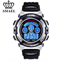 SMAEL Original Brand Children Watch LED Display Digital Watches Relogio Electronic Students Wristwathes Rubber Band