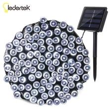 Ledertek Outdoor Lighting Solar Lamp 22M 200 LED 8 Modes Waterproof LED String Fairy Lights For