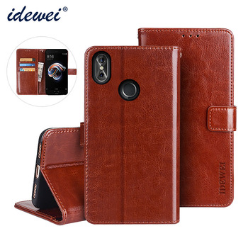 045d527fdc5 Flip caso para Cubot P20 cubierta de lujo Funda de cuero para Cubot P20  cartera protectora caso 6,18