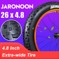 High Quality Inner Tube Outer Tire 26*4.8 Fat Tyre, Bike Parts Bicycle Accessories for Snow Bike