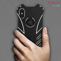 R Just For IPhone X Case Original Simon Thor Series IRON MAN Batman Metal Aluminum Shell