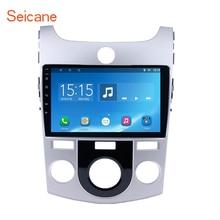 Seicane 9 «2DIN четырехъядерный Android 6,0 автомобиль gps радио для 2008-2012 KIA Forte MT с FM Bluetooth WI-FI Поддержка USB 1080 P DAB DVR