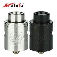 الأصلي wotofo لل ترول v2 rda 22 ملليمتر قطر خزان مع مزدوج قابل للتعديل إعدادات و 510 بالتنقيط تلميح e-سيج vape البخاخة