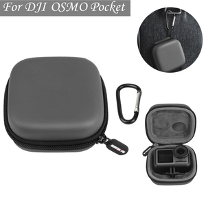 Image 1 - Sports camera mini Carrying case protection bag Portable box with D Keychain buckle for dji OSMO ACTION camera Accessories