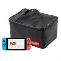 MOUGOL Big Pouch Bag For Nintend Switch Travel Protective Storage Box Shoulder Carrying Case For Nintendo
