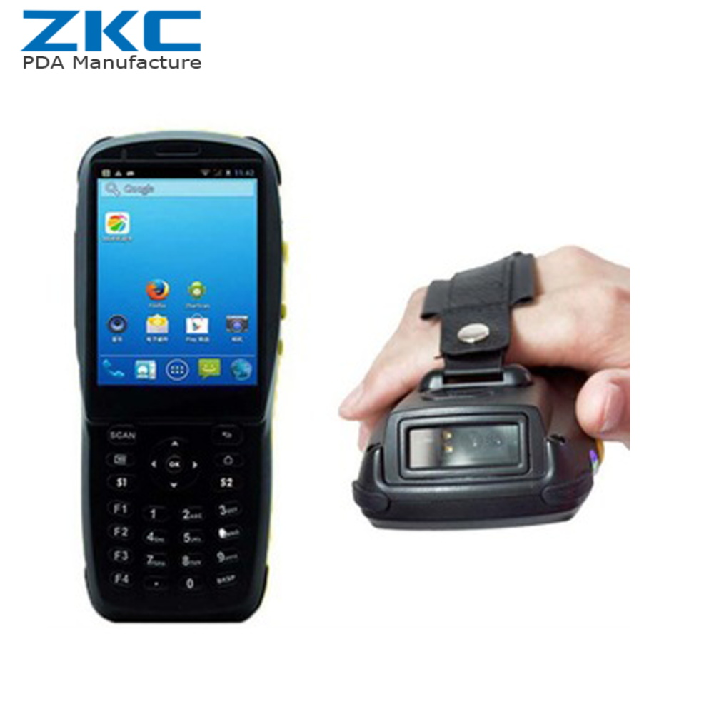 Newest Professional Rugged Barcode Scanner Pda Android Wifi/3g/nfc/rfid Scanners