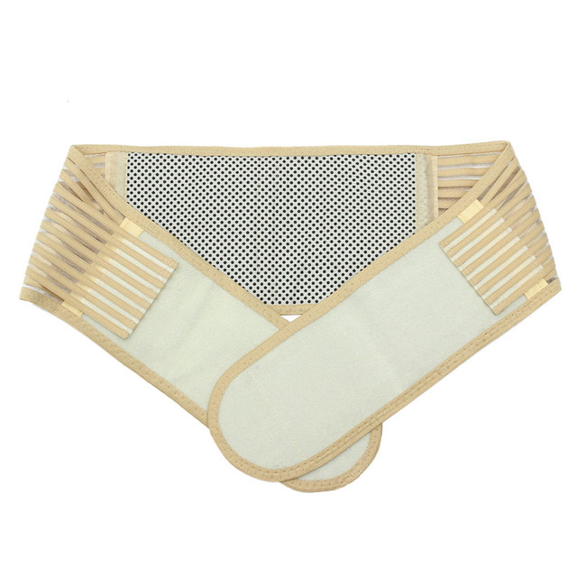 Hot Brand Thermo Power Tourmaline Self-heating Magnetic Therapy Slimming Belt Waist Support Body Shaper Girdle Belt Y011