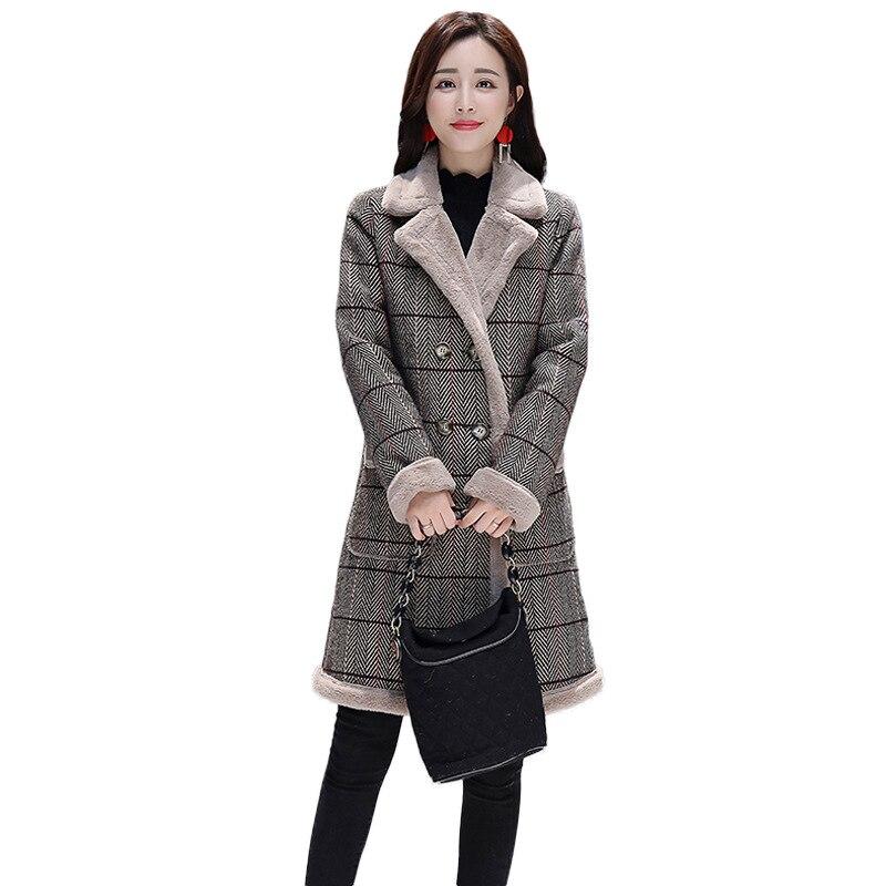 Manteaux Taille Femme Vêtements 2019 Vestes 1 Veste Tops Harajuku Printemps Nouvelle Et Plus 2 Manteau Streetwear Femmes Treillis La Hiver F5xnOqBpwd