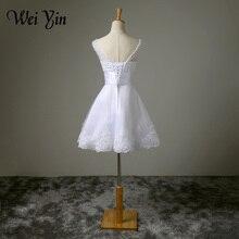 White/Ivory Short Wedding Dress Brides Sexy Lace Bridal Wedding Gown Vestido De Noiva Real Sample