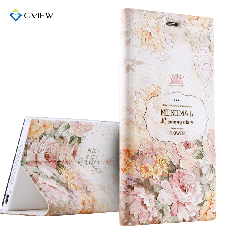 Luxury PU Leather 3D Relief Printing Stereo Feeling Flip Cover Case For Xiaomi mi3 mi 3