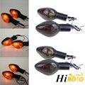 4 шт. галогенная лампа для мотоцикла сигнальный сигнал поворота янтарный индикатор мигалка свет для Honda CBR600RR CBR1000RR CB600F HORNET CB500X CB1300