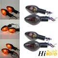 4 pcs دراجة نارية مصباح هالوجين بدوره إشارة العنبر المؤشر الوامض مصباح سيارة هوندا CBR600RR CBR1000RR CB600F الدبور CB500X CB1300