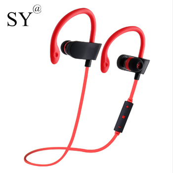 Sweat-proof Bluetooth Earphone Headphones with Microphone Wireless Earbuds Music Sports Headset Hands-free Stereo for phone