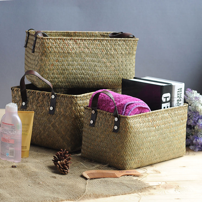Handmade Pack Basket : Popular sea grass buy cheap lots from china