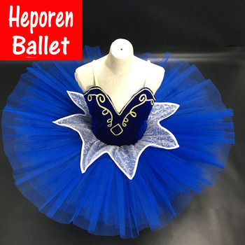 Customized Girl Navy Blue 10 layers Ballet Dresses Dance Leotard Ballet Tutu,Best Selling Anna Shi Classical Spandex Stage Tutu