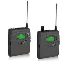Sistema de Micrófono inalámbrico para la Cámara de DSLR Shooting Grabación de Entrevistas, transmisor y receptor Lavalier