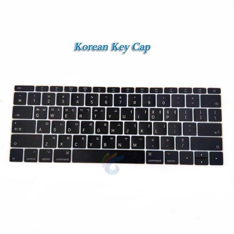 """A1708 клавишная крышка с белым зажимом для Macbook Pro 1"""" retina Key cap US/UK/французский/испанский/немецкий/японский/итальянский/Корейский - Цвет: Korean key cap"""