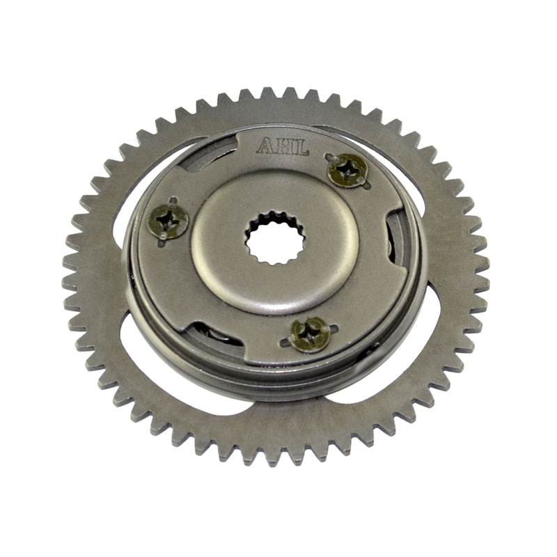 Motorcycle Engine Parts One Way Starter Clutch Gear & Flywheel & Beads For Yamaha YFM125 125 2005 - 2008 Breeze Grizzly 125