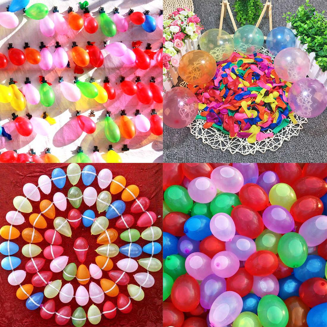 1500 шт. быстрое заполнение водяных шаров игрушки волшебные бомбы пляжная вечерние открытый наполнение воды воздушные шары с изображениями бомб игрушка для детей взрослые дети