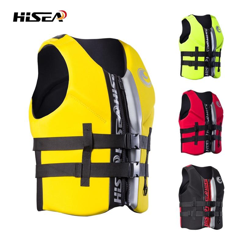 35kg 110kg Life Vest Rescue Safety Swimming Vest for Drifting Surfing Jacket Professional Life Jacket 4